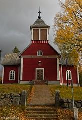 New Church of Pukkila (felix200SX) Tags: church pukkila finland suomi autumn fall outside fallenleaves old building canon 70d sigma 24mm hsm art f14
