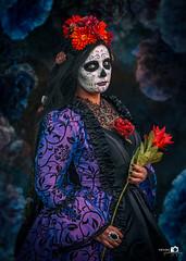 diaz de muerte Helltopia (Nvalcke) Tags: elftopia helltopia ooidonk cosplayer muerte paint fantasy