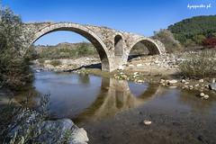 Kosynthos' bridge (kzappaster) Tags: stonebridge bridge sony sonya7 sonya7m3 sonya7iii 24105mm fe24105mmf4goss mirrorless kosynthos river xanthi thrace reflection