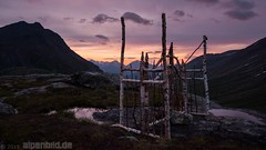 The Pearly Gates at Dawn  -  Littlefjellet (alpenbild.de) Tags: d800 d800e nikond800e nikon alpenbildde berg berge daemmerung door dämmerung fullframe fx landscape landschaft morgen morgens morning mountain mountains natur nature norge norway norwegen purplehour romsdal sommer summer twilight tür vollformat 全画幅数码单反相机 大自然 尼康 山 山区 挪威 景观 雾 黄昏