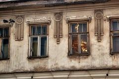 Reflection (Staropramen1969) Tags: reflection house old windows reflexion haus alt fenster reflet maison vieux fenetres відображення будинок старий вікна отражение дом старый окна кимры