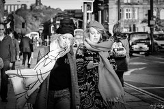All Wrapped Up (Cycling-Road-Hog) Tags: beret candid canoneos750d cap citylife edinburgh edinburghstreetphotography fashion phone places princesstreet scarf scotland street streetphotography streetportrait style urban