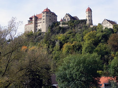 The Castle (Nicote) Tags: harburg castle bavaria donauries district is an extensive medieval complex from 11th 12th century originally it was staufer now owned by princely house oettingen wallerstein