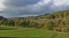 Dee Valley 241019_145247 (Leslie Platt) Tags: denbighshire llangollenrailway deevalley exposureadjusted straightened