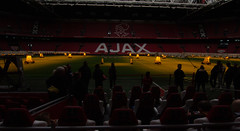the lamps of Ajax Amsterdam (herman hengelo) Tags: ajaxamsterdam lightstogrowthegrass thenetherlands johancruijffarena football lowlight