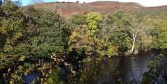 Dee Valley 241019_143947 (Leslie Platt) Tags: denbighshire llangollenrailway deevalley exposureadjusted straightened