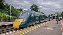 Cheltenham Spa (BarkingBill) Tags: railway railroad train cheltenhamspa 800316