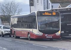 Borders Buses 11708 YJ17 FWY (29/10/2019) (CYule Buses) Tags: service60 bordersbuses wcm westcoastmotors metrocity optare optaremetrocity yj17fwy 11708