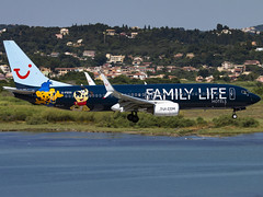 TUI Airways | Boeing 737-8K5(WL) | G-FDZG (Bradley's Aviation Photography) Tags: corfu corfuairport corfuinternationalairport cfu lgkr greece canon70d avgeek aviation tui b738 737 tuiairways boeing7378k5wl gfdzg