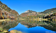 Lac de Valon 2019 (arno18☮) Tags: arno18 valon lac laghetto 2019 france bellevaux chevrerie bleu riflessi miroir nature automne reflets