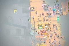 """Green Means 'Go'"":  Saigon District 1, HCMCity, Vietnam (Ginger H Robinson) Tags: trafficlight light citystreets cars motorcycles dusk saigon district1 vietnam southeastasia asia traffic"