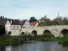 Old Town Harburg (Nicote) Tags: harburg castle bavaria donauries district is an extensive medieval complex from 11th 12th century originally it was staufer now owned by princely house oettingen wallerstein