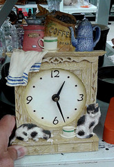 Chats - Cats (J. Trempe 4,140 K hits - Merci-Thanks) Tags: clock horloge temps time heure hour chat cat