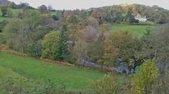 Dee Valley 241019_155419 (Leslie Platt) Tags: exposureadjusted straightened denbighshire llangollenrailway deevalley horseshoefalls