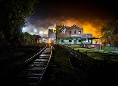 Creech at 4am (WillJordanPhoto) Tags: creech mary helen coalgood coal mine company store kentucky harlan county fog night