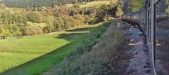 Dee Valley 241019_145229 (Leslie Platt) Tags: denbighshire llangollenrailway deevalley exposureadjusted straightened