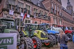 Boerenprotest,Provinciehuis,Groningen stad,the Netherlands,Europe (Aheroy) Tags: provinciehuis trotsopdeboer boerenprotest groningen stad trekkers tractors groningenstad boeren farmers protest boerenopstand streetshot street farmersdefenceforce