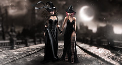 The silent hour (meriluu17) Tags: foxcity justbecause glamaffair salem silent witch witches magic black moon night fantasy surreal
