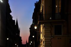 A Roman evening (DameBoudicca) Tags: italy italien italia italie イタリア rome rom roma ローマ sunset solnedgång sonnenuntergang ocaso coucherdesoleil tramonto 日没