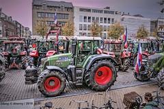 Boerenprotest,Vismarkt,Groningen stad,the Netherlands,Europe (Aheroy) Tags: vismarkt groningen aheroy aheroyal groningenstad boerenprotest trotsopdeboer trekkers tractors farmers boeren farmersdefenceforce boerenopstand peasantrevolt