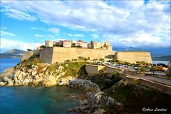 Calvi la citadelle (arno18☮) Tags: calvi corse france arno18 citadelle nuages bleu