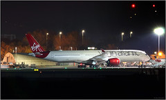 IMG_5320FL17 (Gerry McL) Tags: virgin atlantic a350 a3501000 xwb airbus airliner airplane gvprwd nightshot canon 100400 glasgow scotland gla egpf