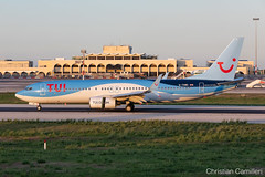 TUI Airways Boeing 737-8K5(WL) 'G-TAWG' LMML - 17.10.2019 (Chris_Camille) Tags: tui airways boeing 7378k5wl gtawg spottinglog registration planespotting spotting maltairport airplane aircraft plane sky fly takeoff airport lmml mla aviationgeek avgeek aviation canon5d 5dmk4 70200mm28 canonef canon livery myphoto myphotography