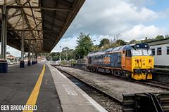 Defiance At Exeter St Davids (Ben_Broomfield) Tags: 50059 gbrf class 50 hoover defiance svr severn valley railway mainline diesel