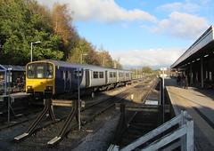 UK class 150 (onewayticket) Tags: diesel railway trains transport northern arriva arn arrivalrailnorth dmu sprinter