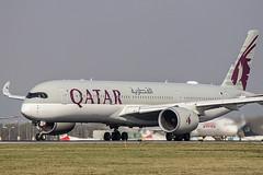 A7-ALR   Qatar Airways   Airbus A350-941   CN 78   Built 2017   VIE/LOWW 05/04/2019 (Mick Planespotter) Tags: aircraft airport 2019 schwechat wien flughafen vienna nik sharpenerpro3 spotter aviation avgeek plane planespotter airplane aeroplane a350 a7alr qatar airways airbus a350941 78 2017 vie loww 05042019 jet