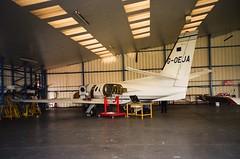 G-OEJA Cessna Citation 500 (Eurojet Aviation Ltd) (Aircaft @ Gloucestershire Airport By James) Tags: gloucestershire airport goeja cessna citation 500 eurojet aviation ltd bizjet egbj james lloyds