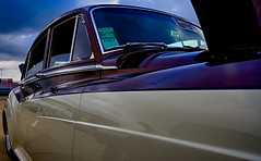 Goodguys Car Show (cedrick murray) Tags: rollsroyce perganclassic silvercloud 1961 nikon nikonz6 lense2470mmf4 texas usa america fortworth texasmotorspeedway auto autos automobile
