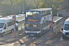 Stagecoach 18524 (stavioni) Tags: stagecoach south alx400 alx 400 alexander dennis trident gx06dxz 18524 double decker bus
