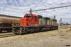 Fepasa 3302 | Estación Rancagua (Felipe Radrigán) Tags: tren ferrocarril train railroad railway fepasa 3302 locomotora locomotive diesel rancagua chile sd40 emd estacion