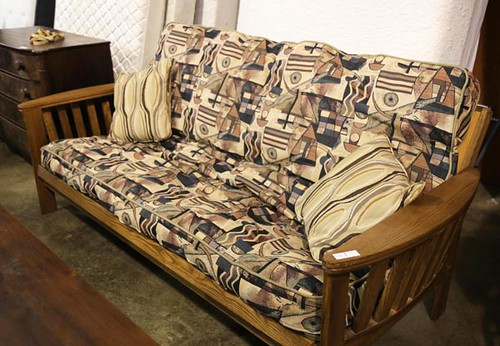 Oak Futon Sofa ($420.00)