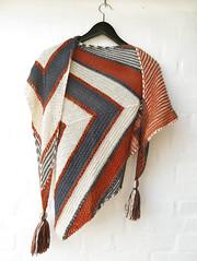 Shawl (cats_in_blue) Tags: knitting shawl