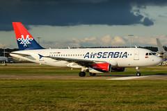 YU-APK (PlanePixNase) Tags: aircraft airport planespotting haj eddv hannover langenhagen airserbia 319 airbus a319