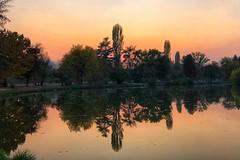#Sunset at the #City #Park #Skopje #Macedonia (petartrajkov) Tags: sunset city park skopje macedonia