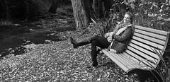 MS 95954crbw (kgvuk) Tags: artemisfauna modelshoot malmesbury autumnfashion autumnal outdoorfashion wellies wellingtonboots wellingtons hunterwellies