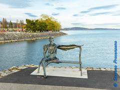 Neuchâtel, sur la fin de la digue portuaire (Stefano Procenzano) Tags: neuchâtel ne svizzera digueportuaire cantonneuchâtel ch nikon nikkor d600 nikond600 24120mmf4 24120mm f4 24120mmf4gvr availablelight art arte dslr fx fmount