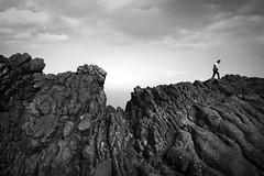 take a walk on the wild side (mare_maris) Tags: landscape rocks man alone cliff stone walking grey black sky clouds day dangerous rocky scenery top outdoors pick high hill mountain adventure edge extreme hiker male mediterranean greece nikon maremaris explore freedom textures lonely loneliness latoselvaggio scogliera uomo dasolo rock collina solitudine human côtésauvage falaise homme seul roches colline solitude wildeseite klippe mann allein felsen hügel einsamkeit γκρεμόσ άνδρασ βραχια λόφοσ μοναξιά τοπίο ελλάδα ladosalvaje acantilado hombre solo rocas colina soledad 悬崖 男人 小山 寂寞