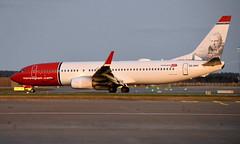 Norwegian SE-RRF, OSL ENGM Gardermoen (Inger Bjørndal Foss) Tags: serrf norwegian airsweden boeing 737 osl engm gardermoen