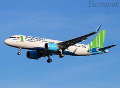 F-WWIU Airbus A320 Neo Bamboo Airways (@Eurospot) Tags: airbus toulouse blagnac a320 neo 9306 bambooairways fwwiu vna596