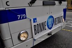 Trolleybus NAW BT-25 n°779 en service sur la ligne 9. © Marc Germann (Marc Germann) Tags: trolleybus naw bt25 hommage retrobus remorque nawhesssiemens hesskièpe hessag bonneretraite kiepe ligne9 par brise prillyeglise lutrycorniche adieux historique historic fbw leman ville convois transport transportspublics