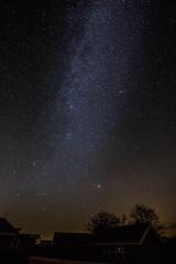 Stars in the sky (felix aka djspliff) Tags: dansk dänemark langzeitbelichtung timeexposure holiday urlaub milchstrase milkyway stars sterne hdr kolding