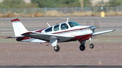 Beech G33 Bonanza N1696W (ChrisK48) Tags: aircraft dvt phoenixaz kdvt phoenixdeervalleyairport airplane n1696w 1972 beech bonanza g33 cncd1300 beechcraft
