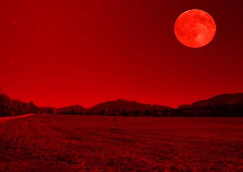 Blood Moon Prophecy - Lake Placid   New York  ~ Adirondack National Park ~ Historic