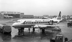 Chicago Midway Airport - Capital Airlines - Vickers Viscount (twa1049g) Tags: chicago midway airport capital airlines vickers viscount 1957 n7413