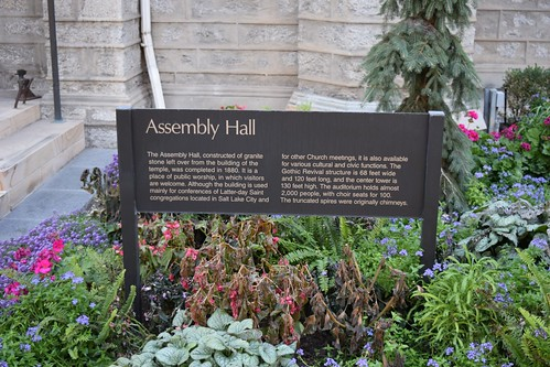 About the LDS Assembly Hall
