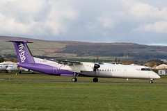 Flybe Dash8 Q400 G-JECP at Isle of Man EGNS 29/10/19 (IOM Aviation Photography) Tags: flybe dash8 q400 gjecp isle man egns 291019